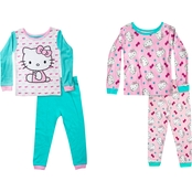 Hello Kitty Infant Girls 4 pc. Pajamas Set