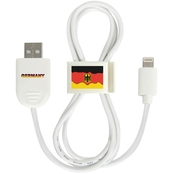 QuikVolt Germany Lightning USB Cable with QuikClip
