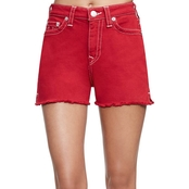 True Religion High Waist Cut Off Shorts