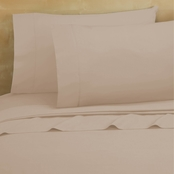 Royale Linens 1250 CVC 6 Pc. Solid Sheet Set