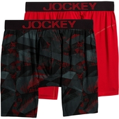 Jockey RapidCool Midway Brief 2 pk.