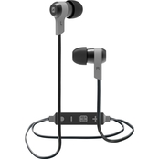 iHome Wireless Bluetooth Metal Earbuds with Mic + Remote