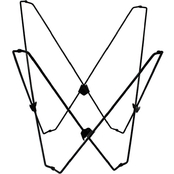 Algoma Butterfly Chair Frame