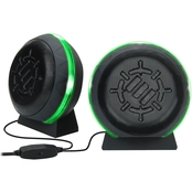 ENHANCE LED Gaming Speakers with In Line Volume Control & Powerful 5W Drivers