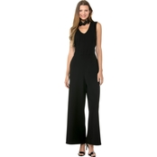 Kensie Jeans Smooth Stretch Crop Jumpsuit