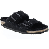 Birkenstock Arizona Shearling Two Strap Sandals
