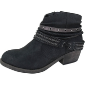 Jellypop Michgan Low Heel Western Booties