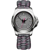 Victorinox Swiss Army Women's I.N.O.X. V Stainless Steel 37mm Watch
