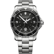 Victorinox Swiss Army Men's Maverick Large Stainless Steel 43mm Watch 241697