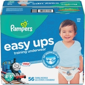 Pampers Boys Easy Ups Training Underwear Size 4T-5T (37+ lb.)