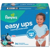 Pampers Boys Easy Ups Training Underwear Size 2T-3T (16-34 lb.) 25 ct.
