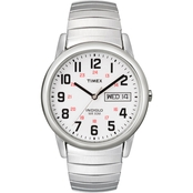 Timex Men's Easy Reader Expansion Band Watch 35mm 204619J