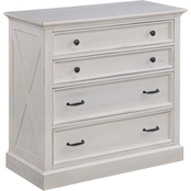Home Styles Seaside Lodge Four Drawer Chest