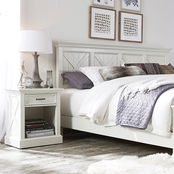 Home Styles Seaside Lodge Headboard and Night Stand