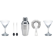 BarCraft 6 Pc. Martini Set