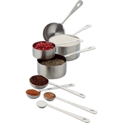 Amco Measuring Cup and Spoon Set