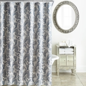 Waterford Florence Chambray Blue Shower Curtain