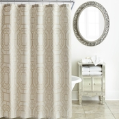 Waterford Lancaster Sand Shower Curtain