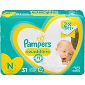 Pampers Swaddlers Diapers Size Newborn (Less Than 10 lb.) Choose Count