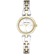 Anne Klein Women's Two Tone Bracelet Watch AK/3173MPTT