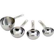 KitchenAid Stainless Steel 4 pc. Measuring Cup Set