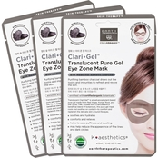 Earth Therapeutics Clari-Gel Translucent Pure Gel Eye Zone Mask