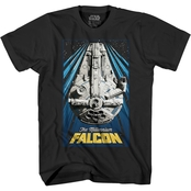Star Wars Boys The Millennium Falcon Tee