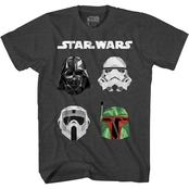 Star Wars Boys Star Wars Heads Up Tee