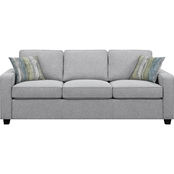 Scott Living Brownswood Transitional Sofa with Track Arms