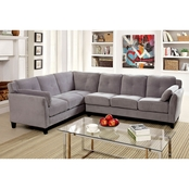 Furniture of America Peever II 2 pc. Sectional