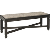 Signature Design by Ashley Tyler Creek Upholstered Dining Room Bench