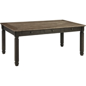 Signature Design by Ashley Tyler Creek Rectangular Dining Room Table