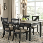 Signature Design by Ashley Tyler Creek 5 Pc. Dining Room Table and Chair Set