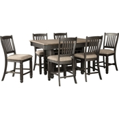 Signature Design by Ashley Tyler Creek 7 Pc. Counter Height Dining Table Set