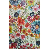 Mohawk Home Blossoms Rainbow Rug