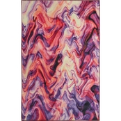 Mohawk Home Wavelength Purple Rug