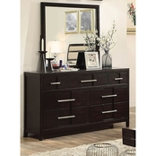 Furniture of America Karia Dresser and Mirror