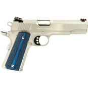 Colt Manufacturing Competition SS 38 Super 5 in. Barrel 9 Rd Pistol Stainless Steel