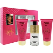 Whatever It Takes Pink 3 Pc. Gift Set