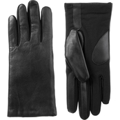 Isotoner Women's Leather Gloves with SleekHeat