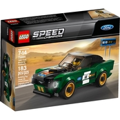 LEGO Speed Champions 1968 Ford Mustang Fastback Set<br/>
