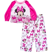 Disney Infant Girls Minnie Mouse A Lot of Bows 2 pc. Pajama Set