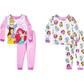 Disney Infant Girls Princess 4 pc. Pajama Set