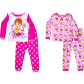 Disney Infant Girls Fancy Nancy 4 pc. Pajama Set