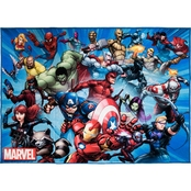Marvel Avengers Evergreen Group Area Rug