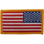 American Flag Patch Reversed with Velcro