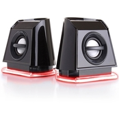 GOgroove BassPULSE 2MX USB Computer Speakers