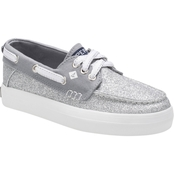 Sperry Grade School Girls Crest Resort Boat Shoes