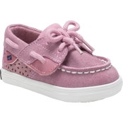 Sperry Infant Girls Crib Bluefish Boat Shoes