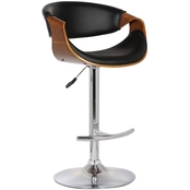 Armen Living Butterfly Adjustable Barstool